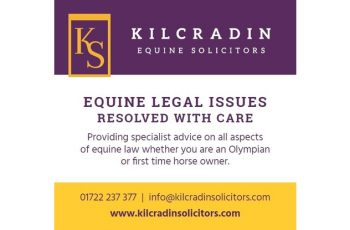 Horse & Hound Advert for Kilcradin Solicitors Equine Law offering